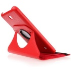 Protective Rotating Case Cover for Samsung Galaxy Tab 4 7.0 - Red