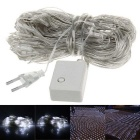 200 LED decoratie wit net licht kerstverlichting - wit (eu stekker)
