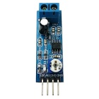 LM386 200 Times Gain Audio Power Amplifier Circuit Board Module - White + Blue