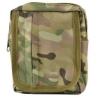 800D Nylon Wasserdicht Multifunktions-Outdoor Accessoires Bag - Camouflage