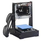 NEJE High Power 500mW DIY Laser Box / Laser Engraving Machine / Laser Printer - Black + Blue