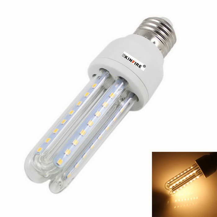 KINFIRE E27 9W 720lm 3500K 48-LED Warm White Light Energy Saving Lamp