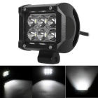 18W 6-LED 1530lm 6000K White Spot Beam LED Worklight Bar for Truck UTV 4WD Offroad (DC 10~30V)