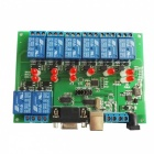 8-CH Serial Port Relay Controller Module w/ Computer Switch / Solenoid valve / Alarm lamp