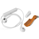 Bluetooth V4.1 In-Ear Eaophones w/ Mic  - White