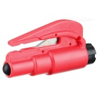 3-in-1 Emergency Car Safety Hammer + Belt Cutter - Red