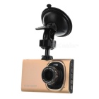 "3.0"" TFT 1080P HD CMOS 140' Wide-Angle 5.0MP Car DVR Recorder Camera Camcorder - Rose Gold"
