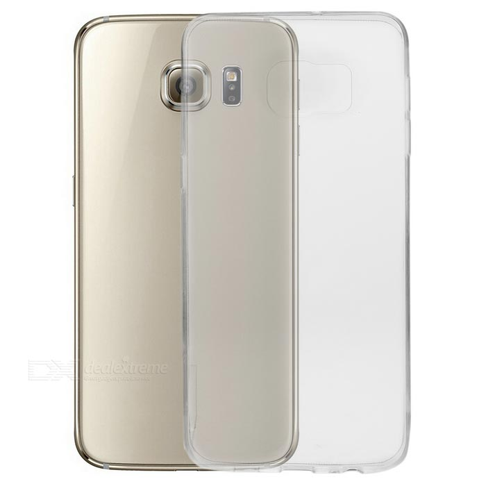 Caso 0.3mm TPU para Samsung S6 Edge Plus - Transparente