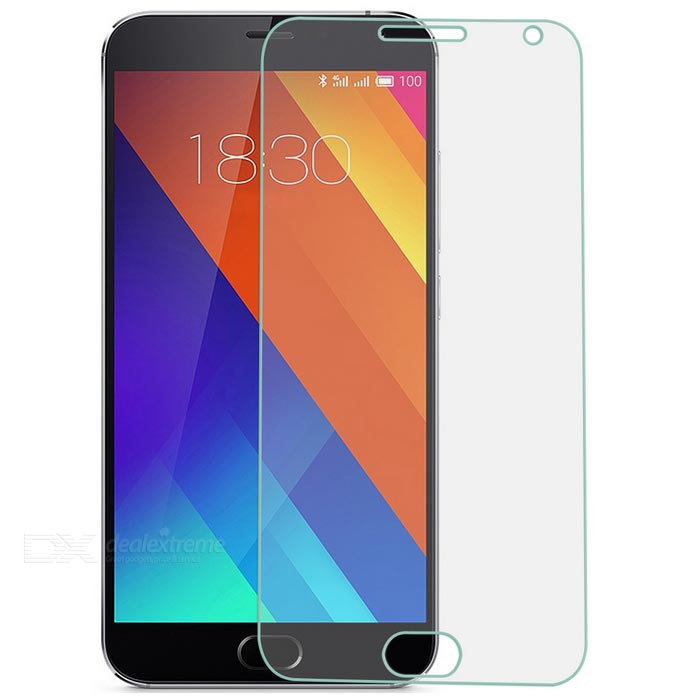 Tempered Glass Screen Guard Protector for MEIZU MX5 - Transparent