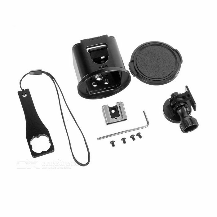 Étui de protection pour gopro hero 4 sessions - noir