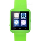 "1.44"" Bluetooth V3.0 Smart Watch w/ Pedometer / Sleep Monitoring, Anti-Lost, Remote Picture - Green"