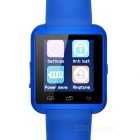 "1.44"" Bluetooth V3.0 Smart Watch w/ Pedometer / Sleep Monitoring, Anti-Lost, Remote Picture - Blue"