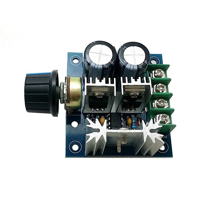 CCMHCW DC 12V~40V 10A PWM10%-100% Motor Speed Regulator - Blue + Black
