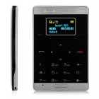 AIEK M3 Bluetooth Low Radiation Single SIM Mini Card Phone - Black