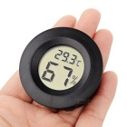 Portable Mini LCD Digital Thermometer / Hygrometer - Black