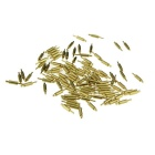 DIY 1.5mm*8.0mm Current Test Probe Pins - Gold (100PCS)