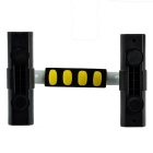"GP-030 1,9"" LCD eletrônico push-up trainer bar set - preto + cinza"