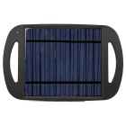 Universal USB Solar Power Bank for IPHONE 5S / IPHONE 6 / IPHONE 6 PLUS + More - Black
