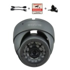 HOSAFE 1.3MP 960P HD IP Camera 24-IR-LED POE Kit - Grey (EU Plug)