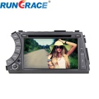 "Rungrace RL-918WGDR02 7"" 2 Din Car DVD Player w/ BT, TGPS, RDS, DVB-T for Ssangyong Acyton Kyron"