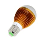 E27 9W LED Globe Bulb Warm White 1000lm 5630 - Gold+Silver (2PCS)