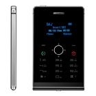 "SOYES H1-8 Mini Card Phone w/ 1.3"" OLED, 32MB RAM, 8GB ROM - Black"