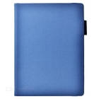 Cwxuan Rotatable Protective PU Case w/ Pen Slots for IPAD PRO - Blue