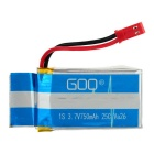 750mAh Batteries + 1 to 4 Charger + More Set - Blue + Multicolored