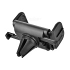 Rotatable Car Vent Mount w/ Auto Lock for Cellphone / GPS - Black