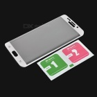 S-What Full Cover Tempered Glass Film for Samsung S6 Edge Plus - White