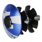 AEST CNC Thread-Less Bike Bicycle Headset - Blue