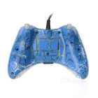 USB Wired Game Controller Joystick Gamepad for XBOX 360 - Blue + Black