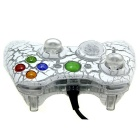 USB Wired Game Controller Joystick Gamepad for XBOX 360 - White + Grey