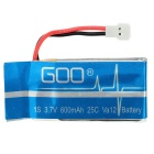 5*600mAh Batteries + 1-to-5 Charger + Adapter + More Set - Blue