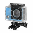 "Outdoor 2.0"" LTPS CMOS 14MP 1080P Mini DV / Sports Camera w/ TF, Wi-Fi - Light Blue + Black"