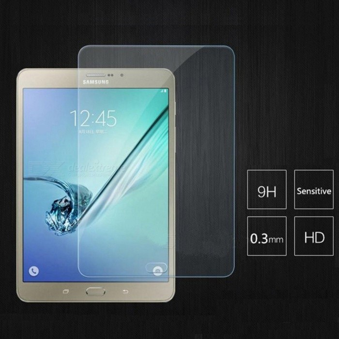 Angibabe 0.3mm Screen Protector for Samsung Tab S2 9.7 - TransparentScreen Protectors<br>ModelAA00153Quantity1 DX.PCM.Model.AttributeModel.UnitForm ColorTransparentMaterialGlassCompatible BrandSamsungScreen TypeClearCompatible SizeOthers,9.7 inchFunctionDustproof,Scratch-proofPacking List1 x Screen Protector1 x Cleaning Cloth1 x Packing Box<br>