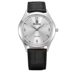 BESTDON BD98107G Men's Fashionable Waterproof Quartz Wrist Watch - Black + Silver (1 x SR621)