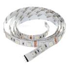 12W tira de luz flexible LED RGB 60-SMD w / 10-Key remoto - Blanco (1m)