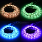 12W Flexible tira de luz LED RGB 60-SMD w / 44-Key remoto - Blanco (1m)