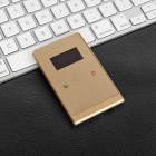 "SOYES H1-8 Mini Card Phone w/ 1.3"" OLED, 32MB RAM, 8GB ROM - Golden"