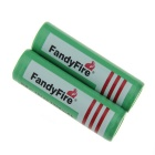 FandyFire US Battery Charger + 3.7V 2000mAh 18650 Rechargeable Battery