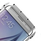 Armor King Stainless Steel Case for Samsung S6 Edge - Silver