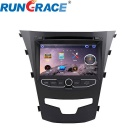 "Rungraace RL-920WGIR 7"" 2Din In-Dash Car DVD Player for Ssangyong Korando w/ BT, GPS, RDS, ISDB-T"