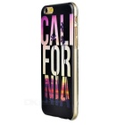 Patterned Ultra Thin TPU Back Case for IPHONE 6S - Multicolor