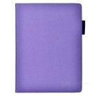 Cwxuan Rotatable PU Case w/ Stand / Card Slots / Pen Slot / Auto Sleep for IPAD PRO - Purple