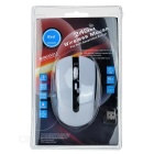 2.4GHz wireless 1000 ~ 1600dpi mouse w / receptor USB - branco + preto