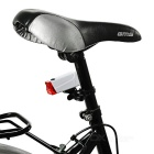 Luz roja de plomo de la luz LED 2-Mode lámpara de advertencia de la bicicleta - blanco