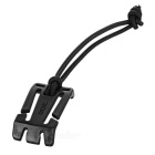 EDCGEAR ITW Elastic Lanyard + Quick Release Buckle - Black