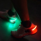 Salzmann Outdoor Men's Reflective LED Shoe Light Red 2-Mode - White