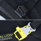 LOCAL LION Dacron Shoulders Backpack w/ Water Bag Compartment - Blue